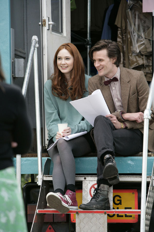 the new Doctor Who and his assistant