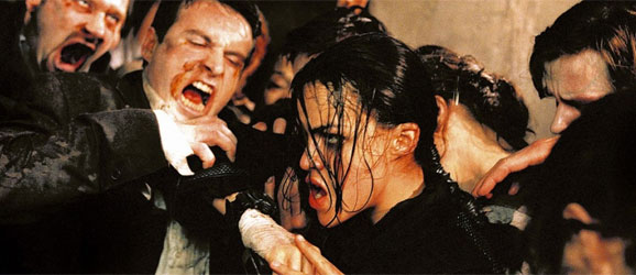 Michelle Rodriguez in Resident Evil