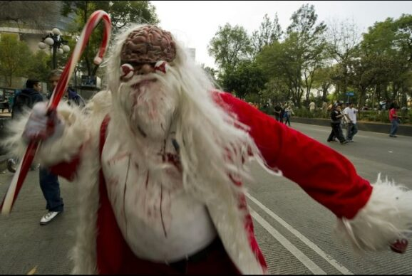 Mexico City Holds Largest Zombie Walk Ever Giant Freakin