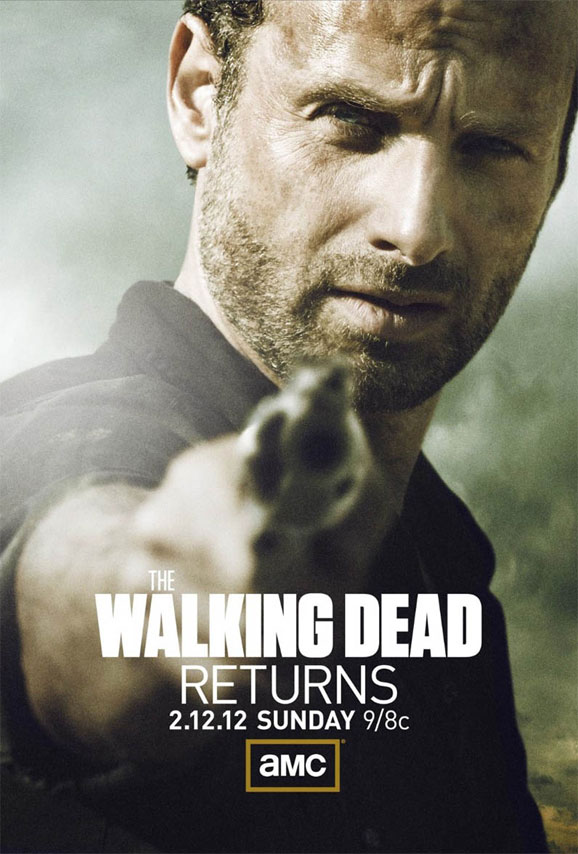 walking dead returns soon here s the mid season poster