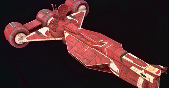 Star Wars prequel first ship