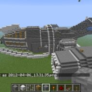 Minecraft Users Build Ships From Firefly Star Trek And