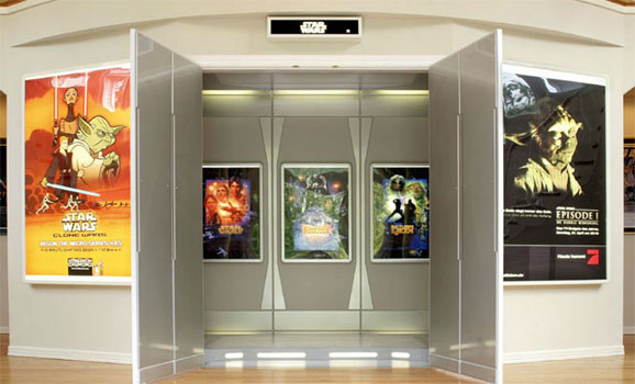 check out this amazing star wars themed home theater giant freakin