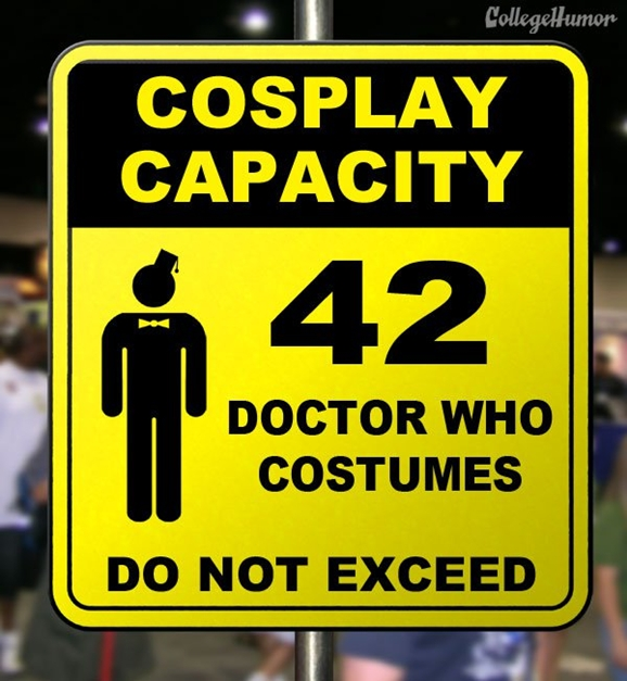 Useful Comic Con Warning Signs