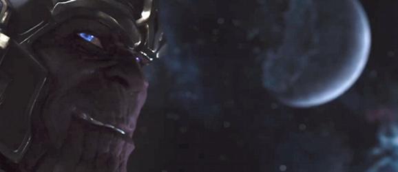 Thanos' smirk