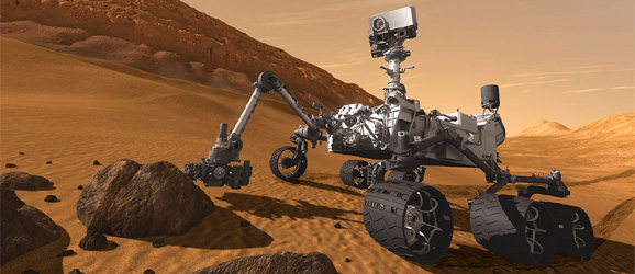 mars rover curiosity landing date - photo #45