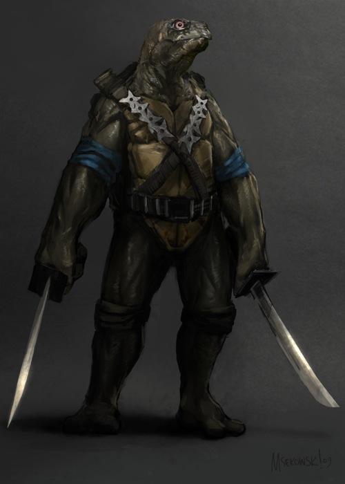 megan fox en el set de tortugas ninjas