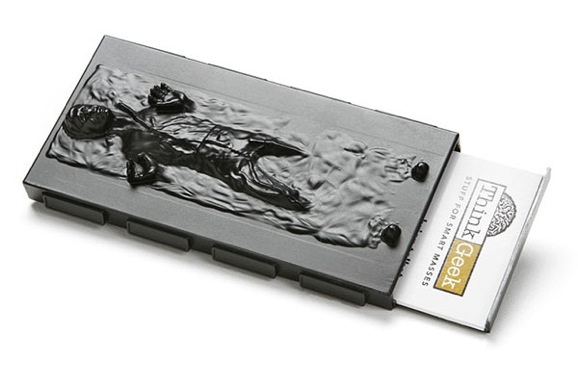 Han solo carbonite business card holder sure to impress in the business colourmoves
