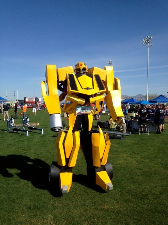 Heres a ten foot tall fire shooting bumblebee costume giant twitter solutioingenieria Choice Image