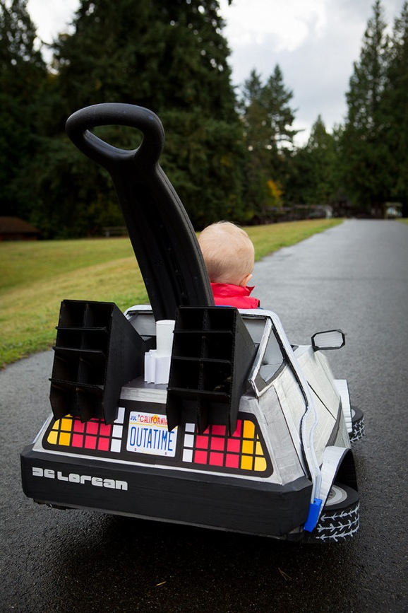 Use This Delorean Stroller To Get Your Baby Up To 88 Mph