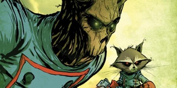 Meet Groot and Rocket Raccoon.