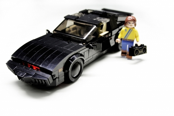 lego version of knight rider 39 s kitt is silent but deadly. Black Bedroom Furniture Sets. Home Design Ideas