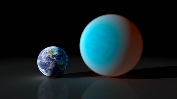 Earth, meet a mini-Neptune
