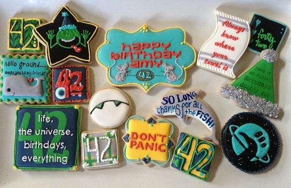 Zaphod Beeblebrox Birthday Cake