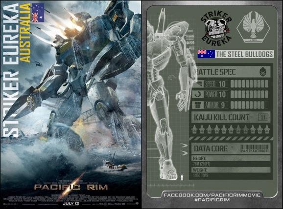 Pacific Rim Trading Card 1