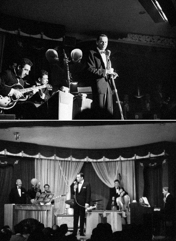 Sinatra with his cantina band