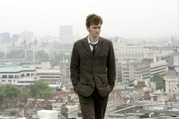 David Tennant as the Tenth Doctor