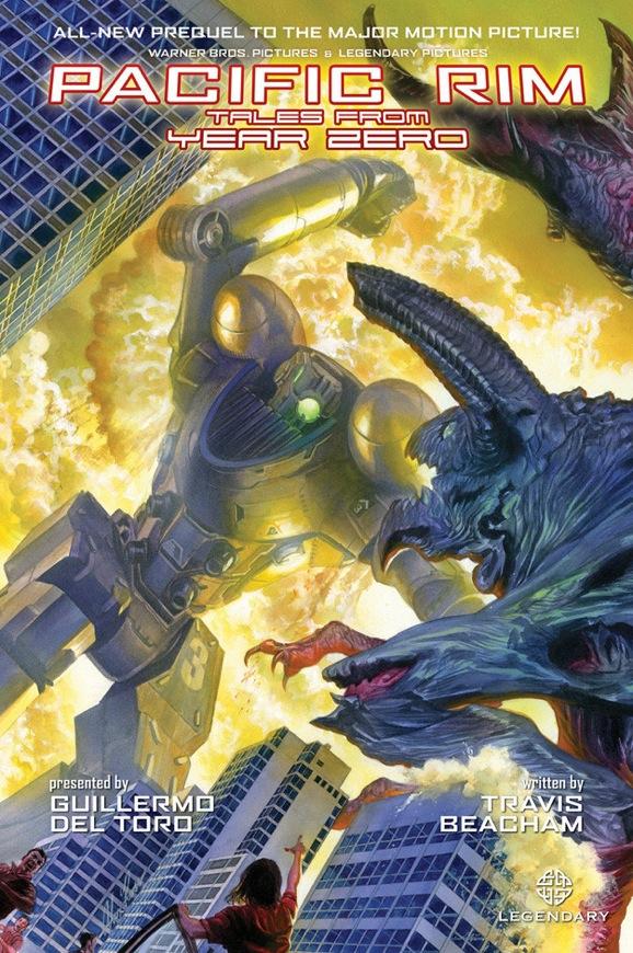 Pacific Rim Comic Cover