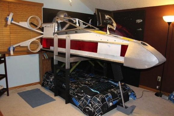 This X Wing Bed Is Cooler Than Where You Sleep