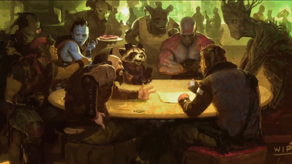Guardians of the Galaxy Mos Eisley Cantina