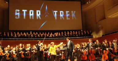 Star Trek Into Concert Hall