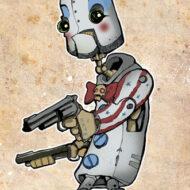 Captain Spaulding Robot