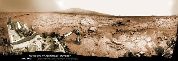 Curiosity Rover Panorama