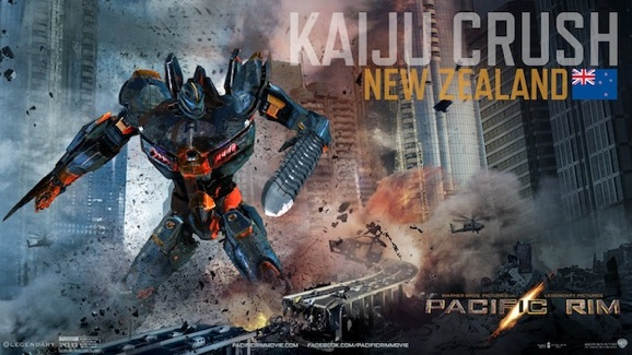 Pacific Rim Kaiju Crush