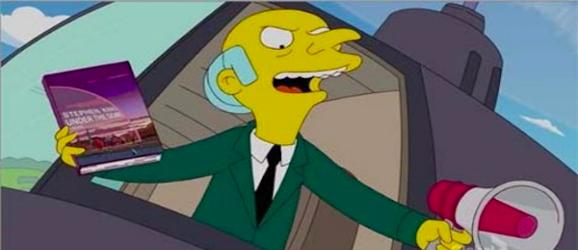 Mr. Burns Threatens Springfield