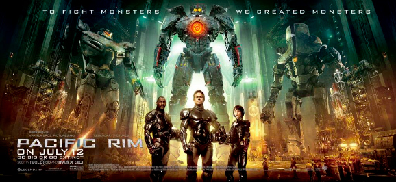 Pacific Rim Banner Poster