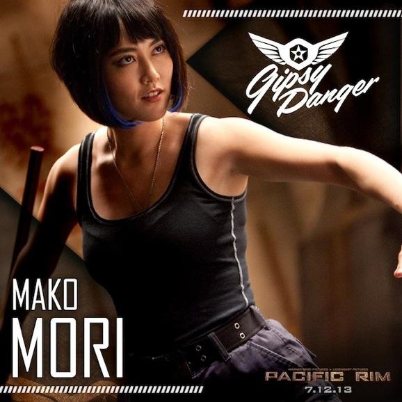 Pacific Rim Mako Mori