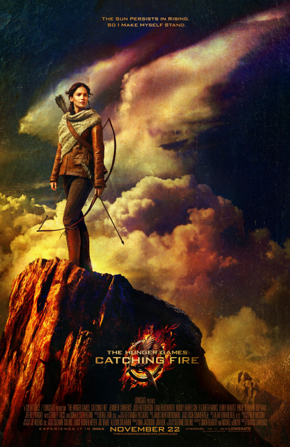 Katniss on a mountain
