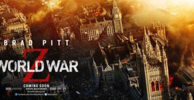 World War Z London Banner