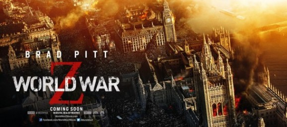 World War Z London Banner
