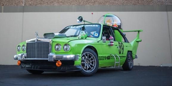 car built for homer