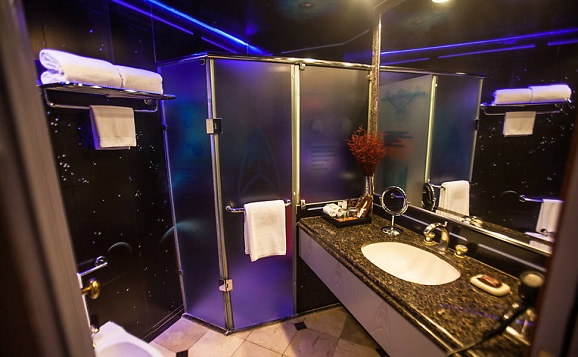 Star Trek Themed Hotel Room In Brazil We 39 Ll See You There