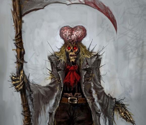 ozombie scarecrow