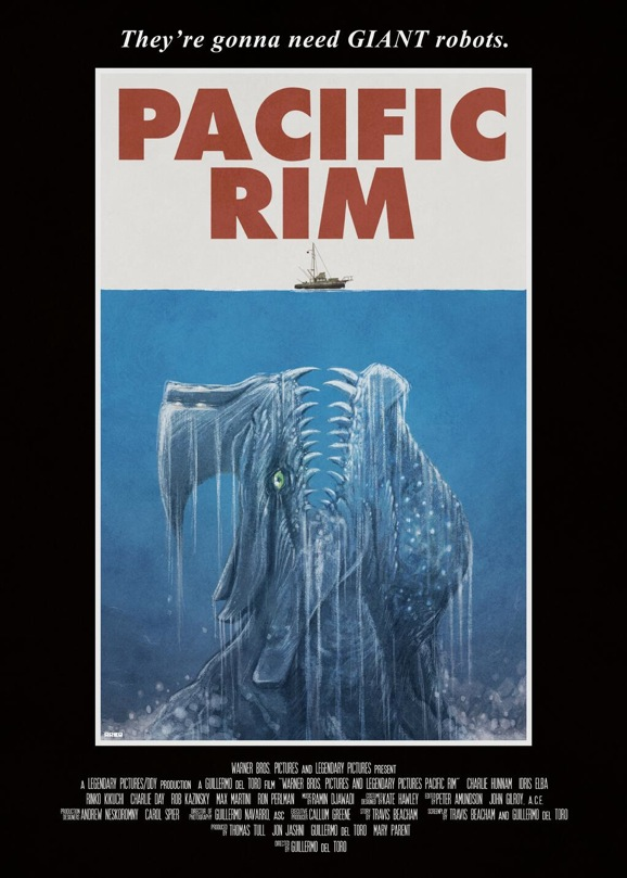 Pacific Rim Jaws Poster