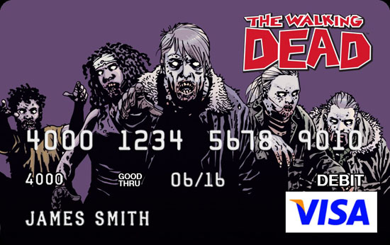 The Walking Dead Credit Card