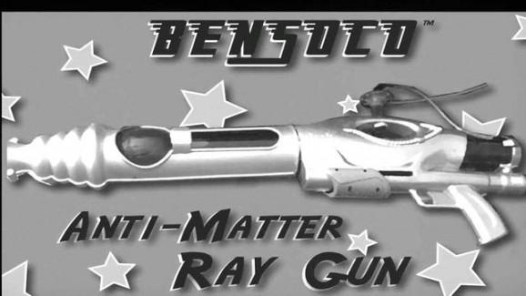 anti-matter gun