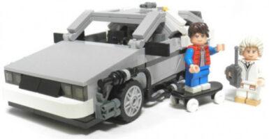 BTTF LEGO set