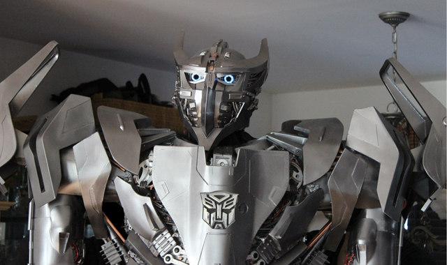Autobots Assemble Amazing Homemade Transformers Costume