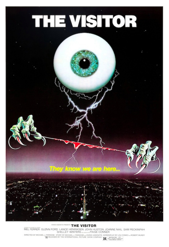 The Visitor one sheet