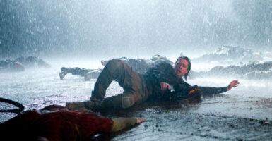 Brad Pitt Sliding!
