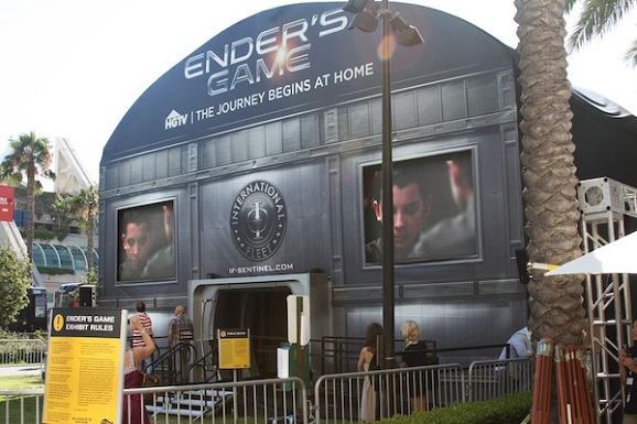 ender's game fan experience