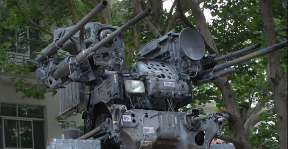 Mechwarrior Created From Old Cars Inspires A Different
