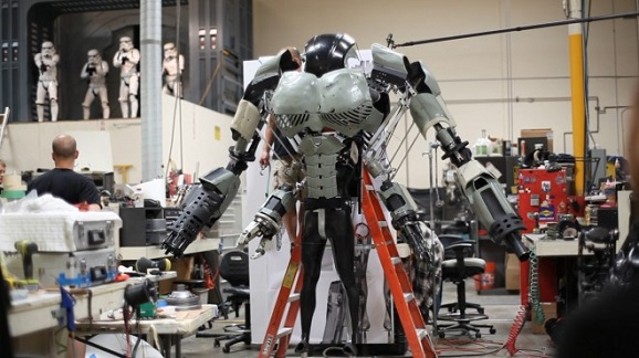 wired mech making of