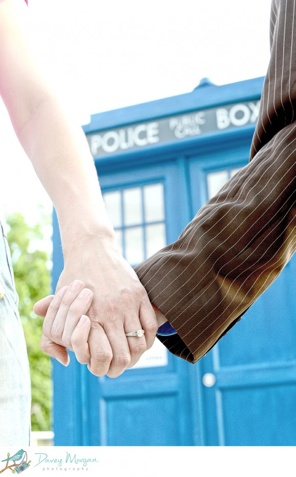 Doctor Who engagement