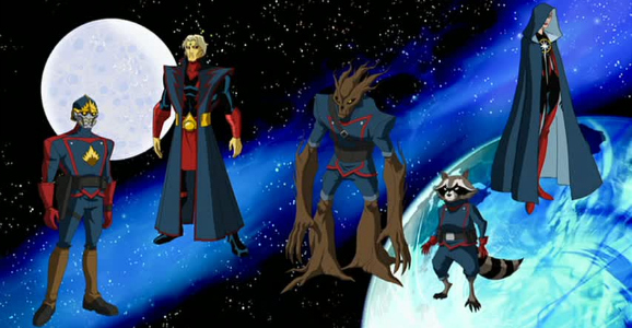 GotG animated series