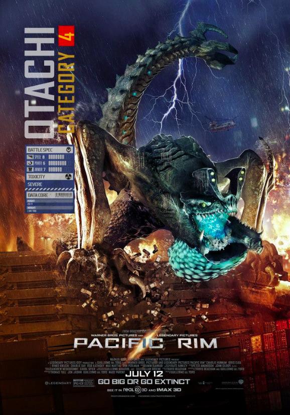 Pacific Rim Clip Gives Us A Kaiju Close Encounter